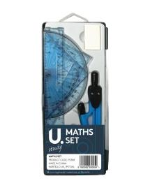 Students Childrens Full Maths Set Home Homework Tools Maths Set Assorted P2388 (Large Letter Rate)
