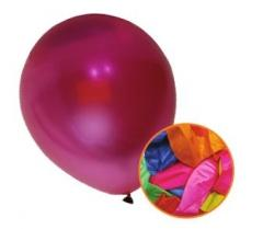 12 Pack Party Birthday Celebration Assorted Colour Metallic Balloons P2714 (Large Letter Rate)