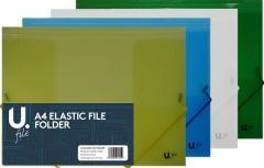 A4 Elastic File Folder Home School Work  4145 (Parcel Rate)