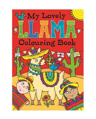 My Lovely Llama Colouring Book Fun Home Activity Book P2807 (Large Letter Rate)