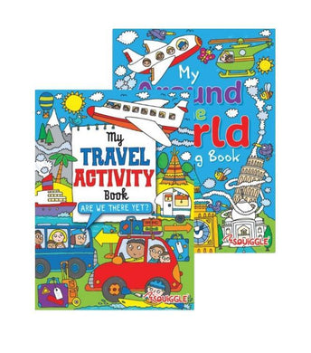 My Travel Activity Book My Around The World Colouring Book P2856 (Large Letter Rate)