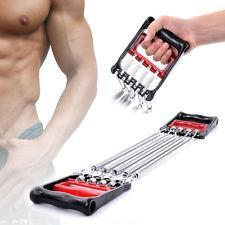 5 Spring Body Chest Expander Exercise Puller Muscle Stretcher Training Home Gym 3593 (Parcel Rate)
