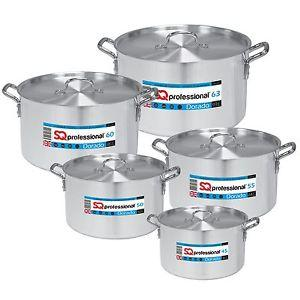 Aluminum Casserole Set High Quality Cookware Dorado 5 Pack 45-50-55-60-63cm (Big Parcel Rate)