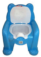 Load image into Gallery viewer, Toddlers Plastic Baby Potty Blue Baby & Toddler Potty Training 35cm x 28cm H1599 (Big Parcel Rate)