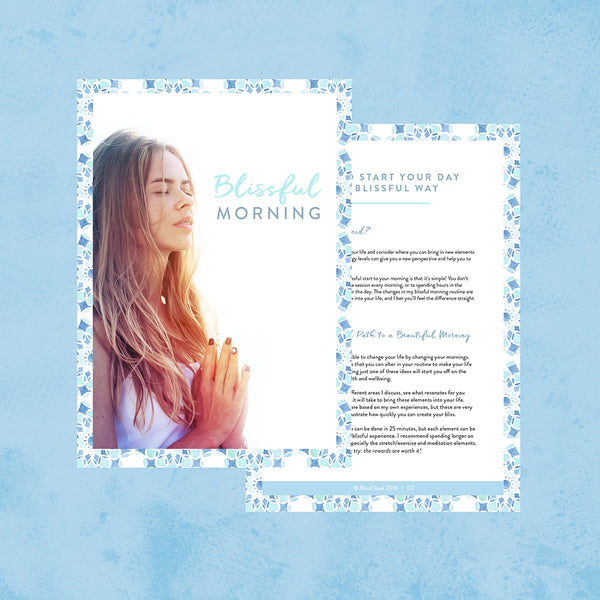 Blissful Morning eBook