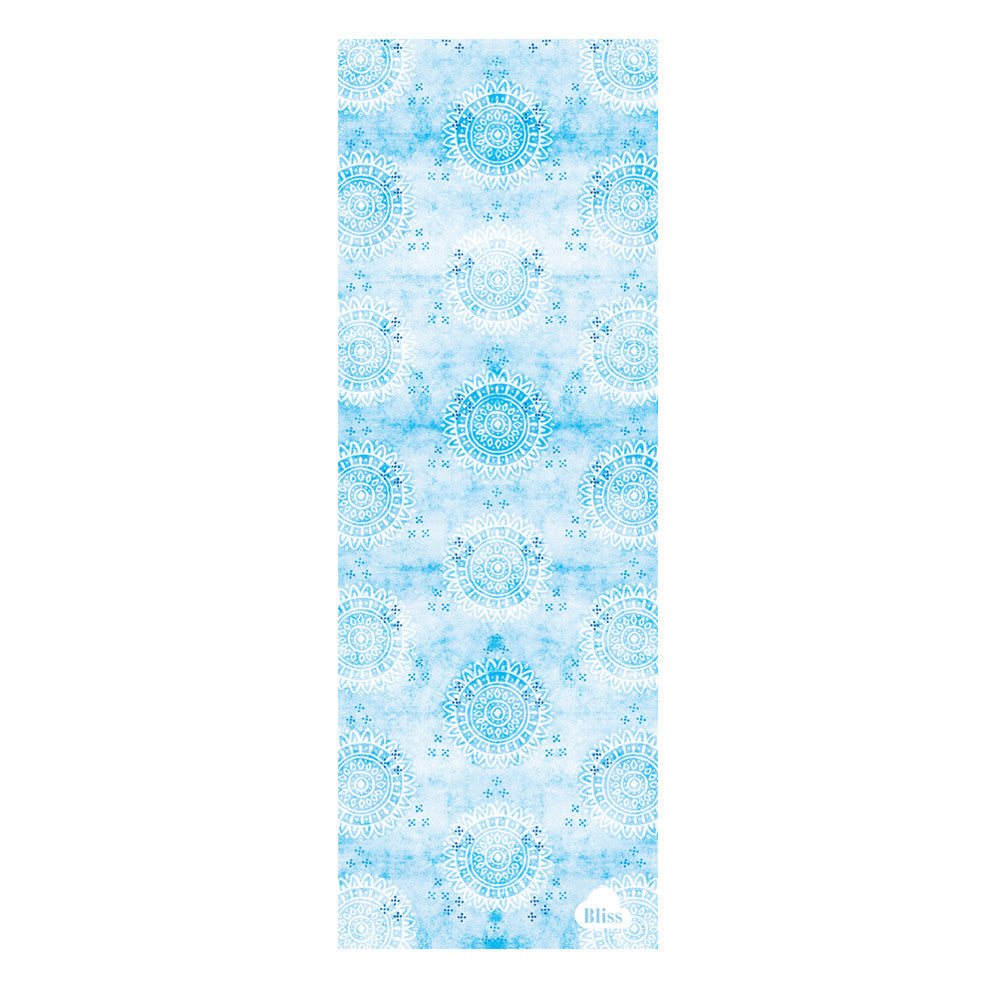 starwater mats yoga products mat blue butterfly mandala