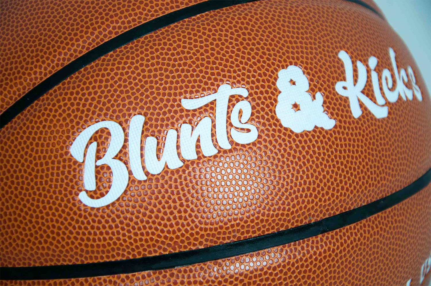 B&K Basketball Closeup