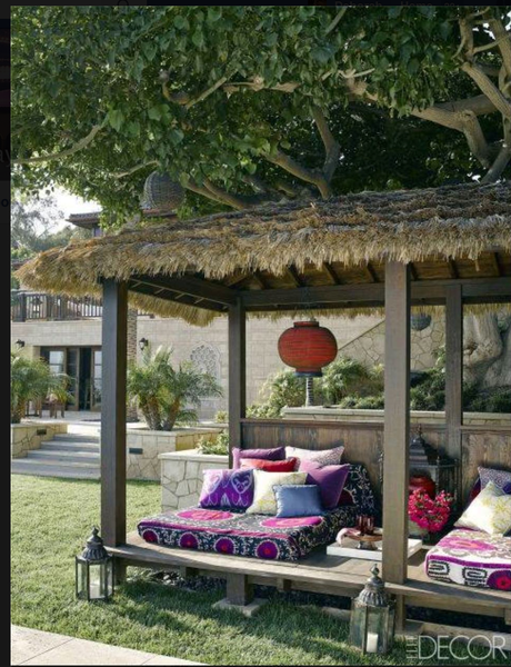Suzani inspiration - outdoor bedding