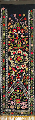 Uzbek Table Runner Suzani