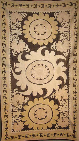 SOLD Uzbek Antique Samarkand Suzani
