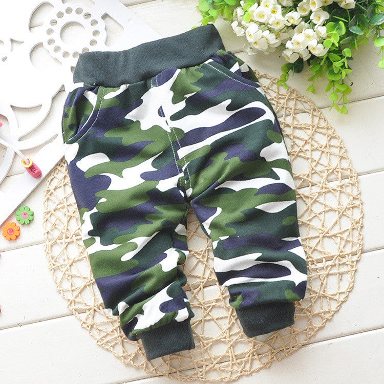 2f2d18fbacb3b Lovely cotton children Camouflage pants newborn Baby boy pants children's  pants baby clothing baby pants