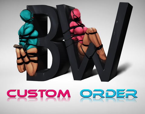 Custom Order Alteration Fee - Bondage Webbing