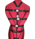 Five-Point Poly Webbing Bondage Harness (Poly Webbing, 4 Horizontals) - Bondage Webbing