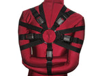 Box-Tie Bondage Harness (X-Style, Double Security Strap, Colored Poly Webbing) - Bondage Webbing