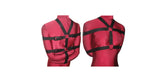 Box-Tie Bondage Harness (Five Point Style, Poly Webbing) - Bondage Webbing