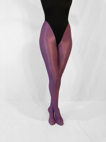 Shiny Pantyhose (Purple) - Bondage Webbing
