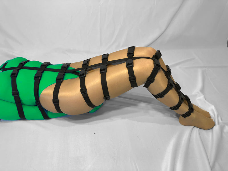 Self Bondage Full Body Harness (Poly Webbing) - Bondage Webbing