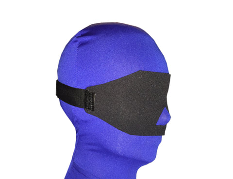 Neoprene or Darlex Blindfold (Soft, Nose Opening)