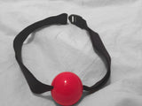 Ball Gag (Silicone Ball; Darlex Strap; Very Comfortable and Soft!)