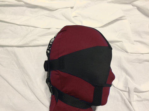 Neoprene or Darlex Blindfold (Trainer Style, Soft, Nose Opening)