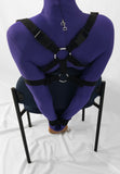 Self Bondage Chair Tie System (Intermediate) - Bondage Webbing