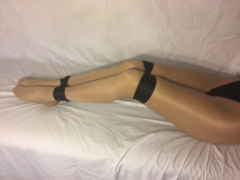 Darlex Bondage Sash (Soft and Strong for Sensual Bondage Play; Black) - Bondage Webbing