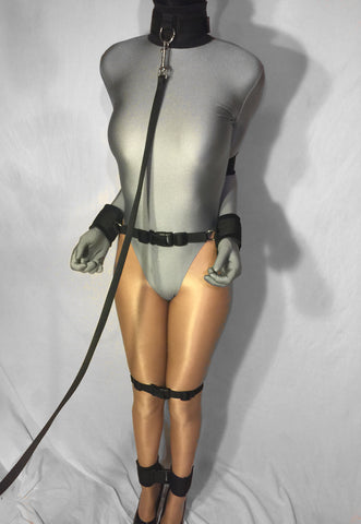 Hobble Harness Bondage System (Velcro, Neoprene Padding, Poly Webbing)