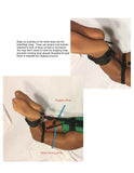 Self Bondage Hogtie System (Advanced, Poly Webbing) - Bondage Webbing