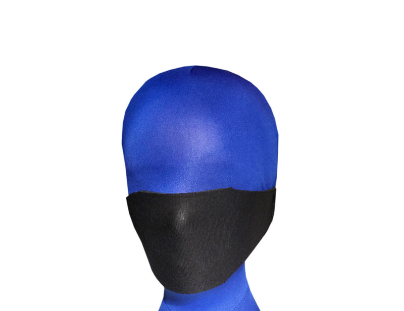 Neoprene Panel Gag (Silicone Ball, Over the Nose Style) - Bondage Webbing