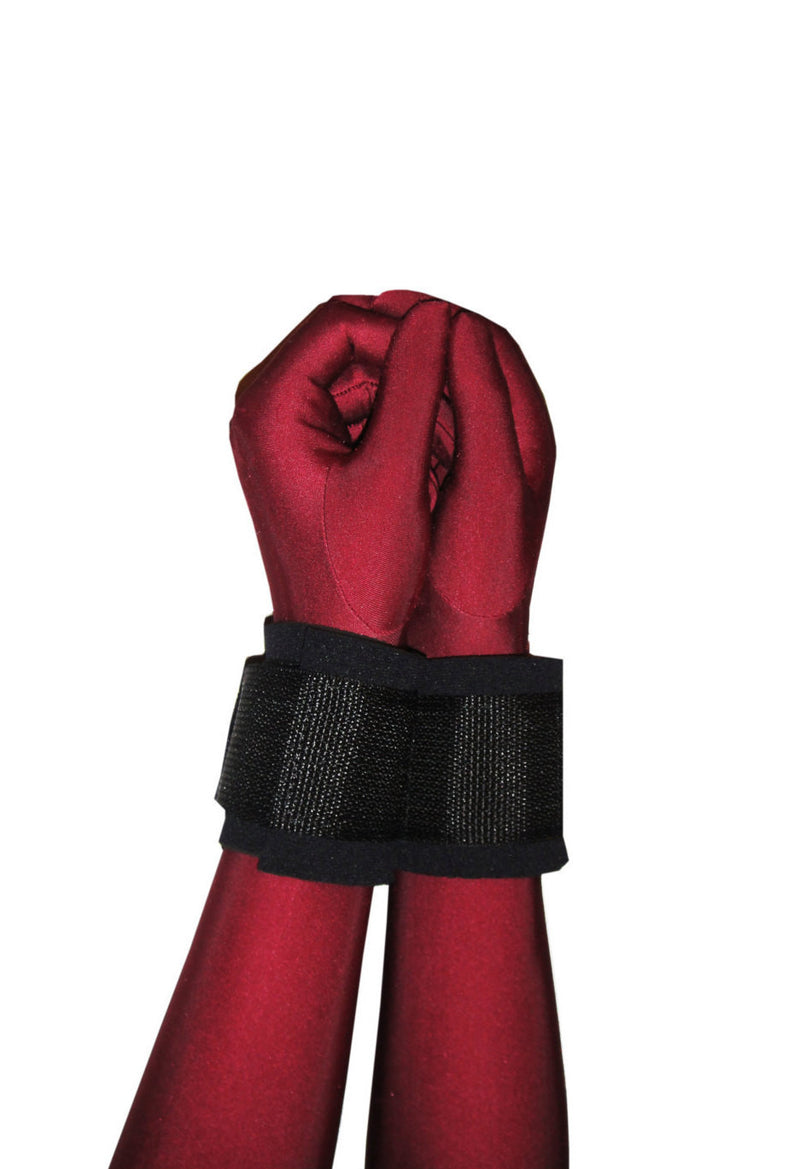 Neoprene Bondage Cuffs (Wrist or Ankle, Shower) - Bondage Webbing
