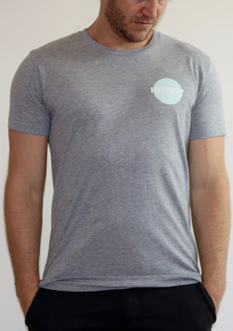 Eclipse Tee in Grey