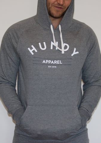 Hundy Hoody in Grey - Unisex