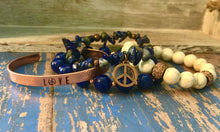 Load image into Gallery viewer, Peace Bracelet Stack