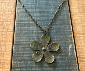 Large Flower Pendant