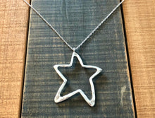 Load image into Gallery viewer, Large Star Pendant