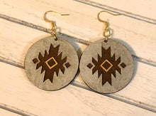 Load image into Gallery viewer, Aztec Earrings