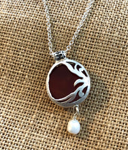 Load image into Gallery viewer, Carnelian Agate Pendant