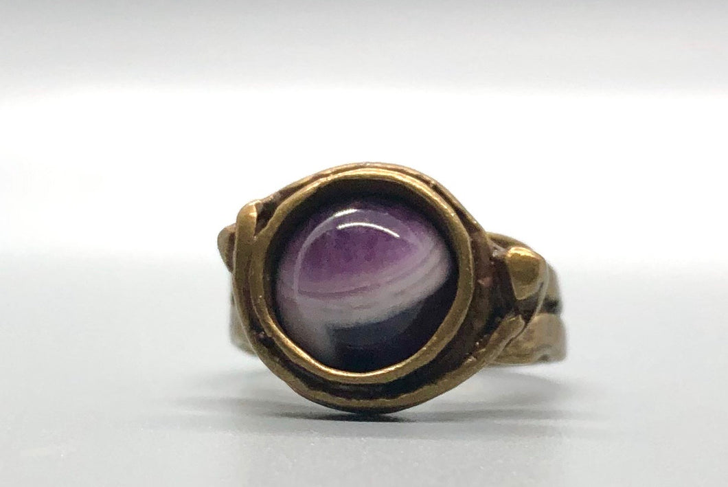 Antique Gold - Amethyst