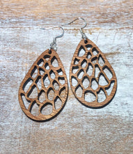 Load image into Gallery viewer, Wood Earrings