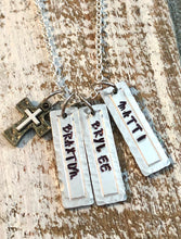 Load image into Gallery viewer, Custom Names Necklace