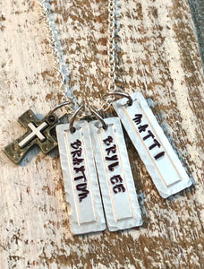 Custom Names Necklace