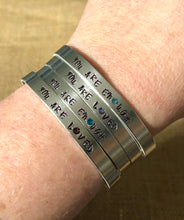 Load image into Gallery viewer, Small Message-Big Impact Bracelet