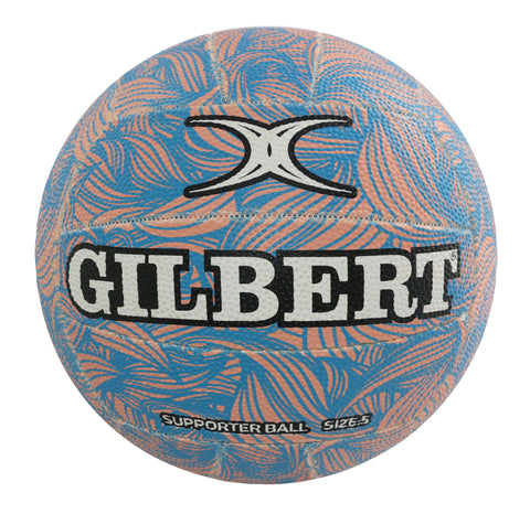 Glam Pastel Wave Netball