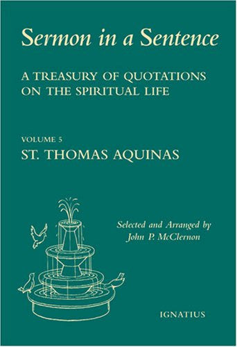 an introduction to the life of saint thomas aquinas Why st thomas aquinas is the a man can derive more profit in a year from his books than from spending his whole life the introduction to catholic.