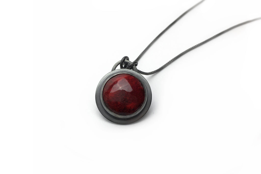 Brick Everyday Bezel Necklace