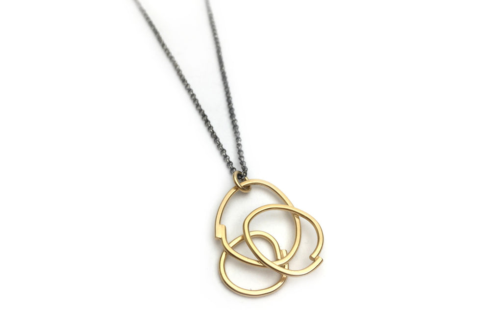 Triple Intersect Pendant
