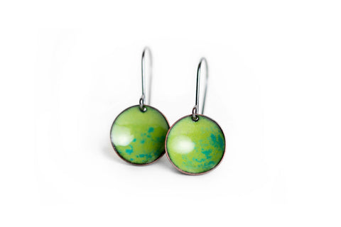 Pebble Earrings - Leaf