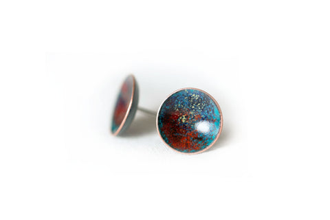 Galaxy Studs - Red/Blue
