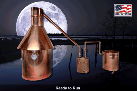 Affordable Copper Moonshine Stills are a Tool of Survival Lifesaving Equipment