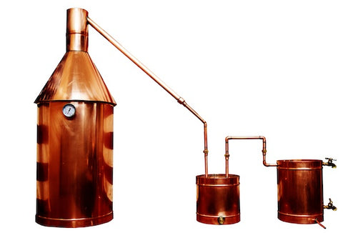 15 Gallon Copper Moonshine Still - Wait-A-While